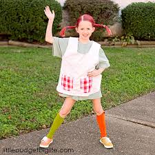 Pippi Longstocking Costume Little Budget Big Life October 2016