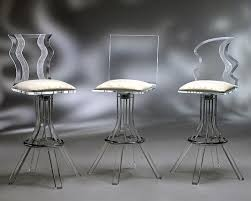sleek bar stools modern design