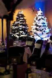 winter wonderland themed christmas party at the auction house