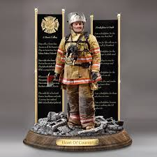 firefighter figurines ask gifts figurines painted ponies bears dolls