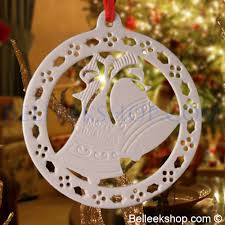 belleek bell ornament belleek decorations