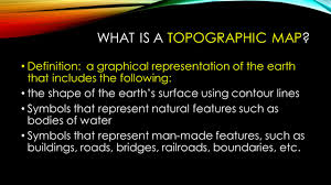 What Is A Topographic Map Environmental Science Review Guide For Chapter 1 And 2