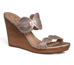 luccia stacked wedge sandal gold 3 1 2