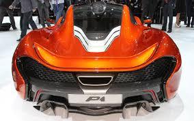 mclaren p1 supercar first look 2012 paris motor show motor trend