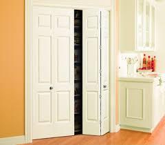 6 Panel Bifold Closet Doors Panel Louver And Flush Doors Interior Doors And Closets