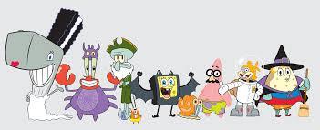 image spongebob squarepants halloween costume cast scaredy pants