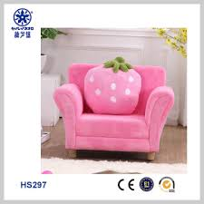 hs297 china strawberry children sofa for little chair love