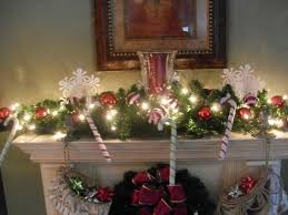 Chimney Decoration Ideas Bloombety Decorated Christmas Mantels Ideas Christmas Mantels