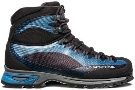 La Sportiva Trango Trk Gtx Hiking Shoes Blue/Carbon 43 11V-600900-43