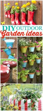 diy outdoor garden ideas so cute and clever