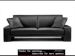 White Leather Sofa Beds Sofa Bed Leather Black Leather Sofas Romance Youtube