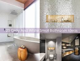 period bathroom ideas 25 gray and white small bathroom ideas