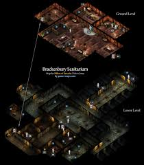 Poe Maps Brackenbury Sanitarium Defiance Bay Pillars Of Eternity