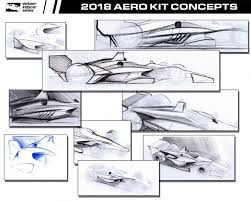 indycar reveals initial 2018 aero kit sketches u2022 the apex