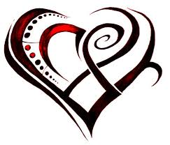 tribal hearts tattoo designs photo 14 real photo pictures