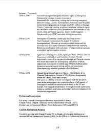Criminal Investigator Resume Agenda 06 18 02 16
