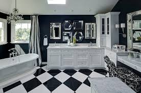 Black And White Bathroom Designs Black White Bathrooms Design Ideas Decor Accessories Dma Homes