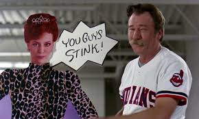 Major League Movie Meme - the indians have won their 17th straight game baseball