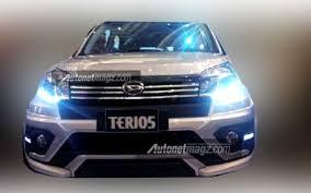 toyota suv indonesia daihatsu terios facelift toyota s cousin mini suv leaked