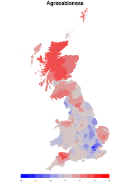 Map Of England Cities by Study Finds Gb U0027s Most Extroverted Agreeable And Emotionally