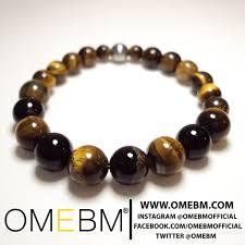 black onyx beads bracelet images Gemstone beaded bracelet tigers eye jewelry omebm omebm jpg