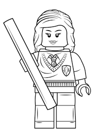 lego girl coloring page lego hermione granger coloring page free printable coloring pages
