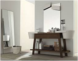 vanity with shelf modern home