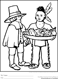 pilgrims coloring pages thanksgiving coloring pages pinterest