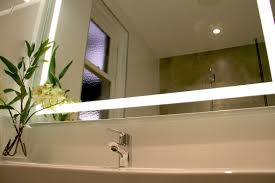 verge bathroom lighted mirror vanity led by clearlight designs