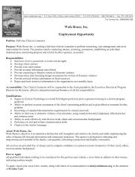 Sample Resume Mental Health Counselor by Counselor Urgan Green Spaces