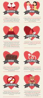 surprising foreign s day traditions infographic daily
