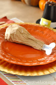 Halloween Brown Paper Bag Crafts 4 Easy Kids Thanksgiving Table Craft Tutorials Creative Juice
