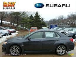 2013 subaru impreza wrx sti 4 door in dark gray metallic 005869