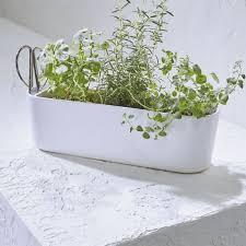 ceramic flower pots crate and barrel