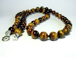 silver eye necklace images Mens tiger eye necklace mens beaded necklace silver jpg