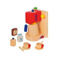 kaffeemaschine kinderküche holzspielzeug kaffeemaschine für kinderküche spielküche mit