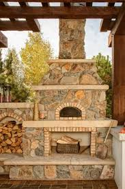 Outdoor Kitchen Pizza Oven Design Outdoor Pizza Oven Fireplaces Pinterest Oven Pizzas And