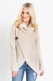 cowl sweater cece beige knit cowl neck sweater morning lavender