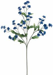 silk baby s breath baby s breath in royal blue silk wedding flowers afloral