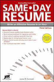 steps on writing a resume same day resume third edition jist career solutions