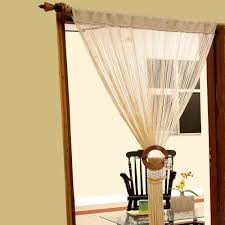 Window Blind String Heavy Weight String Curtains 90x200cm Fly Screen Room Door Divider