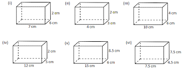 worksheet on volume of a cube and cuboid places to visit