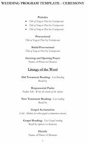 Wedding Program Templates Word 37 Printable Wedding Program Examples U0026 Templates Template Lab