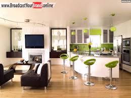 Wohnzimmer Modern Beige Wohnzimmer Mit Küche Braun Beige Ruhbaz Com