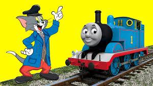 tom jerry trains transformation thomas train cartoon