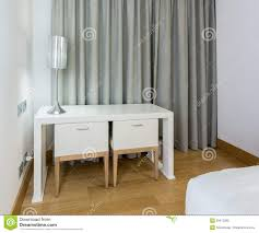 Modern White Furniture Bedroom Modern White Table And Chairs In Bedroom Stock Photography Image
