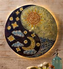 sun moon yin yang wall wall wind weather
