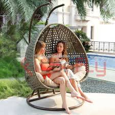 Two Person Swing Chair List Manufacturers Of Double Egg Chair Buy Double Egg Chair Get