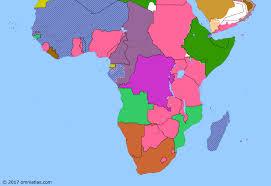 gabon in world map battle of gabon historical atlas of sub saharan africa 8