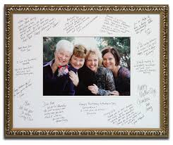 wedding autograph frame celebration framing at the framer s workshop berkeley ca 94704